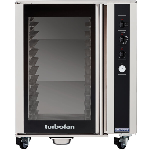 Moffat USP85M12 Turbofan Full Size 12 Tray Electric Holding Cabinet / Proofer with Mechanical Controls - 110-120V Main Image 1