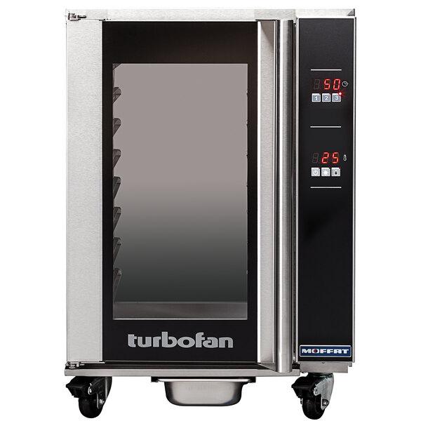 Moffat USH8D-UC Turbofan Half Size 8 Tray Electric Undercounter Holding Cabinet with Digital Controls - 110-120V Main Image 1
