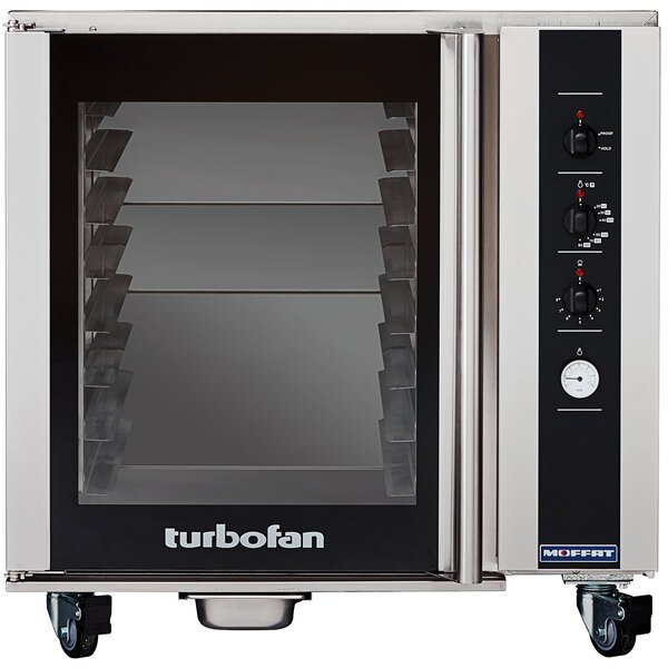 Moffat USP85M8 Turbofan Full Size 8 Tray Electric Holding Cabinet / Proofer with Mechanical Controls - 110-120V Main Image 1