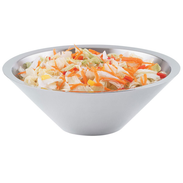 Vollrath 46578 Double Wall Conical 2.8 Qt. Serving Bowl