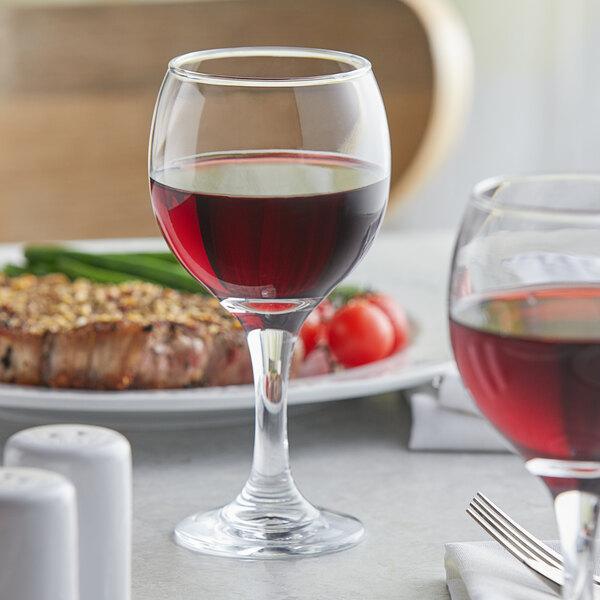 Acopa 9 oz. All-Purpose Wine Glass - 12/Case Main Image 3