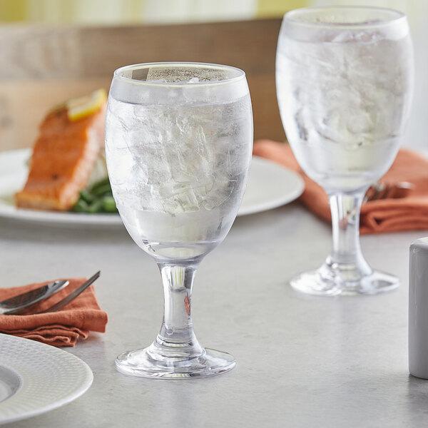Acopa 16 oz. Glass Goblet - 12/Case Main Image 2