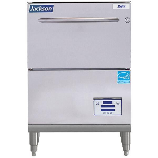 Jackson DishStar DELTA HT-E-SEER-S High Temperature Short Undercounter Dishwasher with Energy Recovery - 208/230V Main Image 1