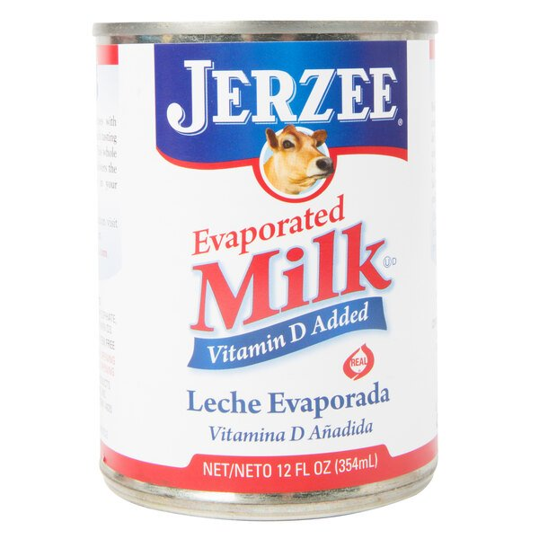 12 oz. Canned Evaporated Milk - 24/Case