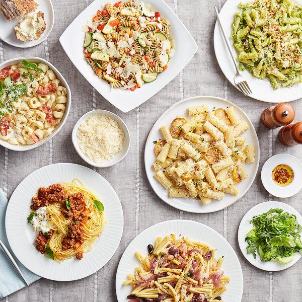 Barilla Penne Rigate Pasta 20 Lb Webstaurantstore