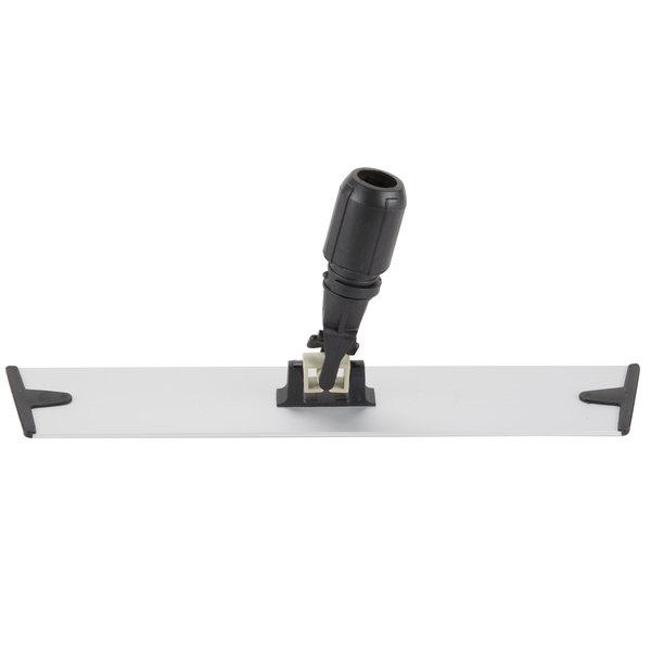 "Knuckle Buster MFMB18 18"" Aluminum Velcro® Microfiber Mop Frame Main Image 1"