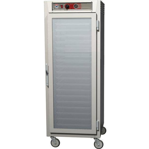 Metro C569-SFC-U C5 6 Series Full Height Reach-In Heated Holding Cabinet - Clear Doors Main Image 1
