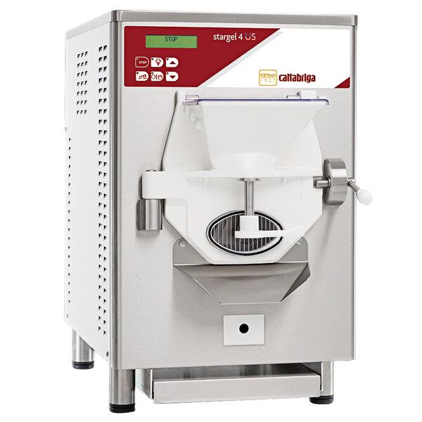 Cattabriga StarGel 4 4 kg Countertop Batch Freezer - 230V, 1 Phase