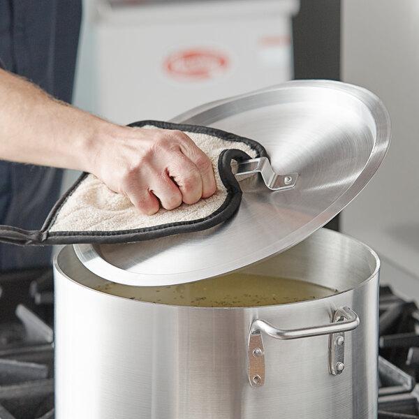 """Choice 13 3/4"""" Aluminum Pot / Pan Cover Main Image 2"""