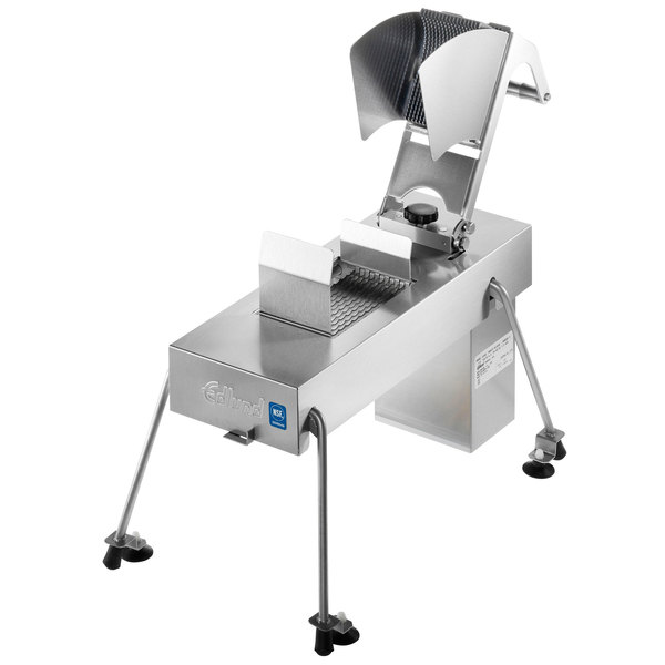 """Edlund 358XL Electric Fruit and Vegetable Slicer with Two 3/8"""" XL Blade Assemblies Main Image 1"""