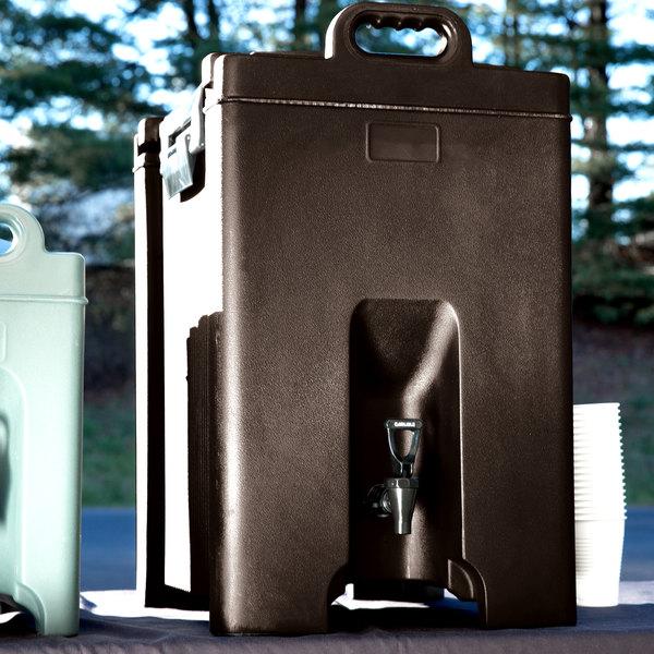 Carlisle XT1000001 Cateraide Brown 10 Gallon Insulated Beverage Dispenser