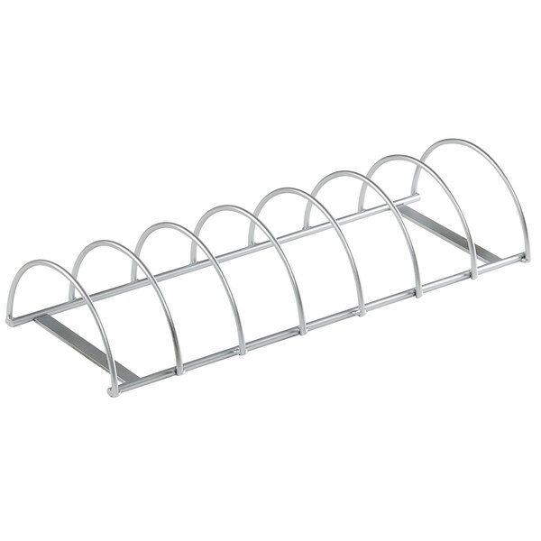 """Cal-Mil 22042-55 15 3/4"""" x 6"""" x 3"""" Stainless Steel Wire Sandwich Organizer Main Image 1"""