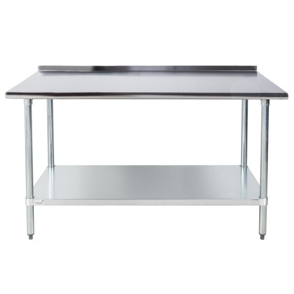 Advance Tabco FLAGX X Gauge Stainless Steel Work - 30 x 60 stainless steel work table