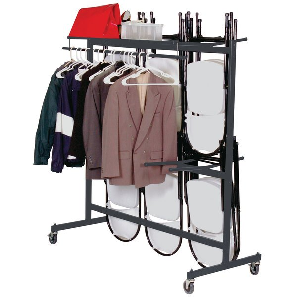 Correll C84-C Hanging Folding Chair / Coat Truck Main Image 2
