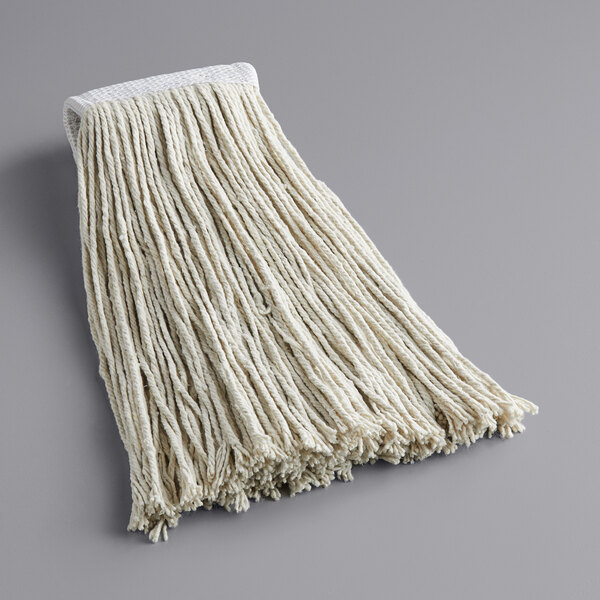 Continental A947018 Huskeeclassic Natural 24 Cotton Cut End Wet Mop Head With 5 Band