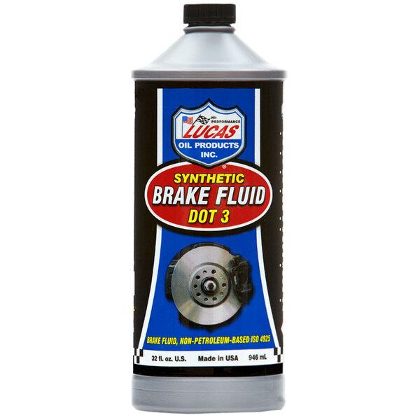 Lucas Oil 10826 1 Qt. DOT 3 Brake Fluid - 12/Case Main Image 1