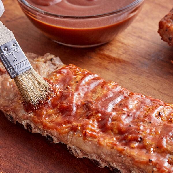 Smokehouse 220 1 Gallon Applewood Smoked Bacon Barbecue Sauce - 2/Case Main Image 2