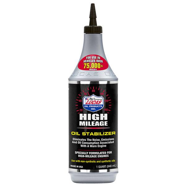 Lucas Oil 10118 1 Qt. High Mileage Oil Stabilizer Main Image 1
