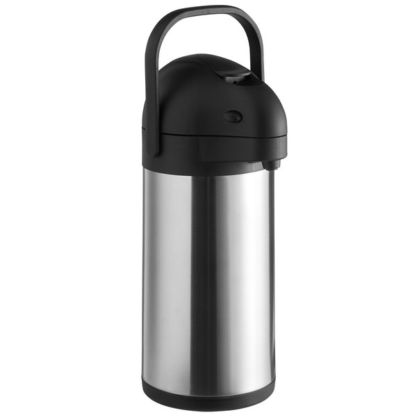 Choice 2.5 Liter Stainless Steel Lined Airpot with Lever