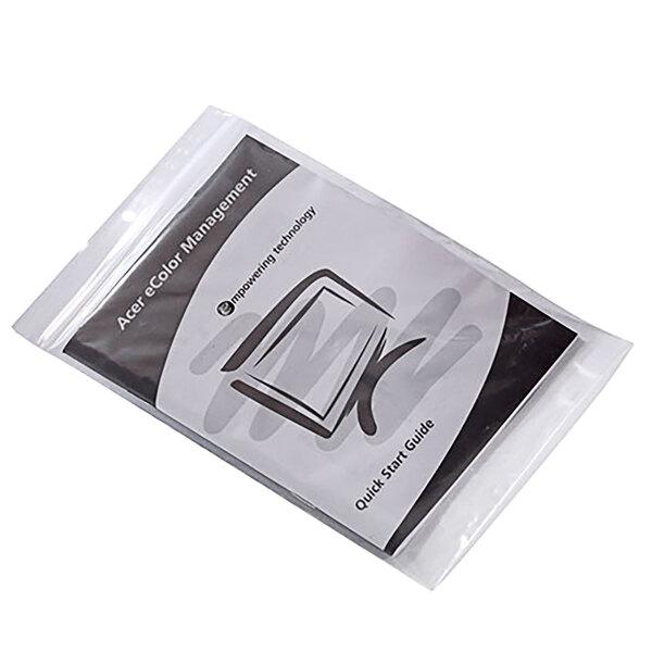 "Choice 6"" x 8"" 2 Mil Polypropylene Zip Top Bag with Hanging Hole - 1000/Case Main Image 1"
