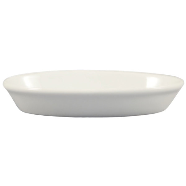 CAC BKW-2 Oval China Baking Dish 8 oz. - 36/Case