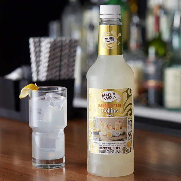 Master of Mixes 1 Liter Premium Tom Collins Mix Main Image 2
