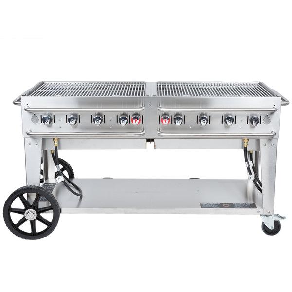 "Crown Verity RCB-60 60"" Outdoor Rental Grill"