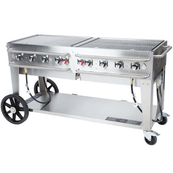 "Crown Verity RCB-60 60"" Outdoor Rental Grill Main Image 1"