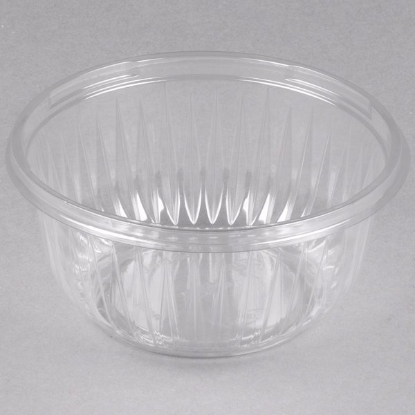 Dart PET16B PresentaBowls 16 oz. Clear Plastic Bowl - 504/Case Main Image 1
