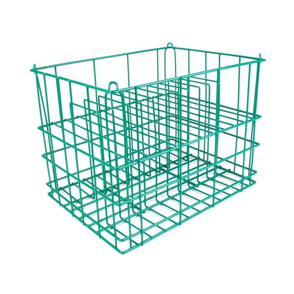 "14 Compartment Catering Plate Rack for Square Bread & Butter Plates up to 6"" - Wash, Store, Transport Main Image 1"