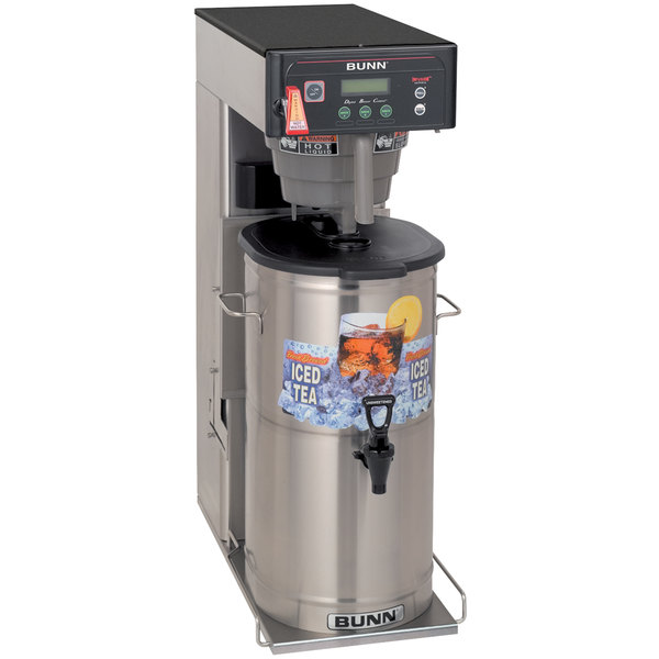 "Bunn 35700.0019 ITCB-DV Infusion Coffee and Tea Brewer with 29"" Trunk and Flip Tray - Dual Voltage Main Image 1"