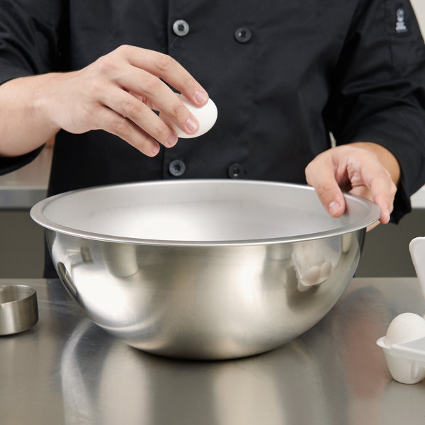 Vollrath 69080 8 Qt. Heavy Duty Stainless Steel Mixing Bowl