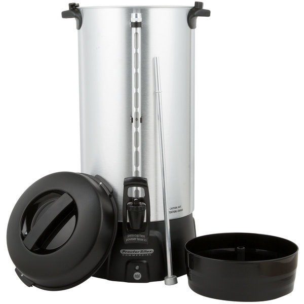 Cleaning Large Coffee Maker : 100 Cup Coffee Maker Proctor Silex 45100 Coffee Urn (100 Cup)