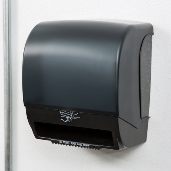 Paper Roll Towel Dispenser With Motion Sensor Image Preview