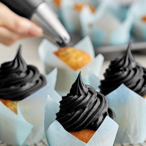 Chefmaster 10.5 oz. Black Diamond Liqua-Gel Food Coloring Main Image 2