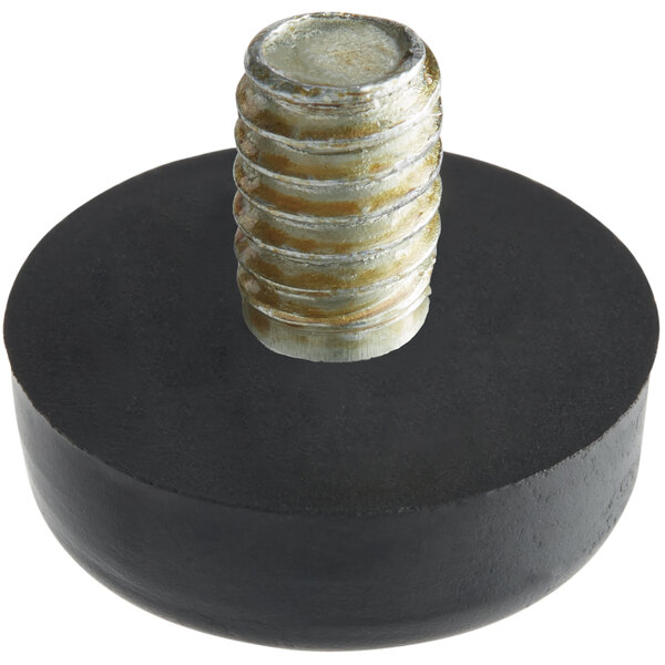 """Bunn 25137.0000 3/4"""" x 1/4"""" Replacement Black Foot for Coffee Brewers Main Image 1"""