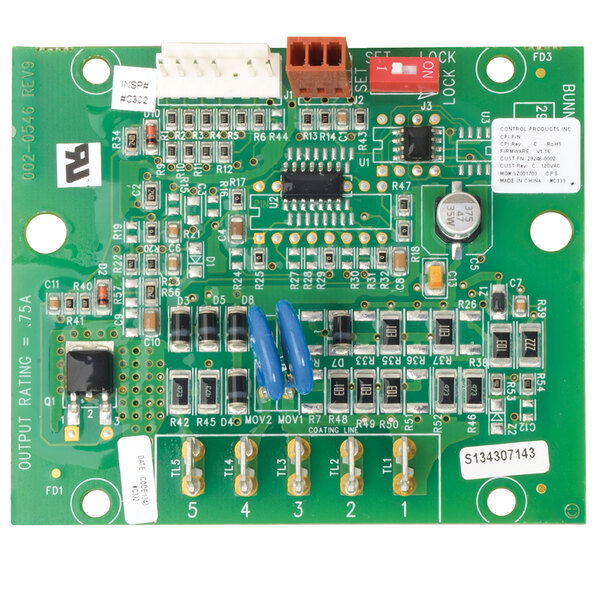 Bunn 32400.0000 Replacement Digital Timer Kit with Adaptor for Coffee Brewers - 120V Main Image 1