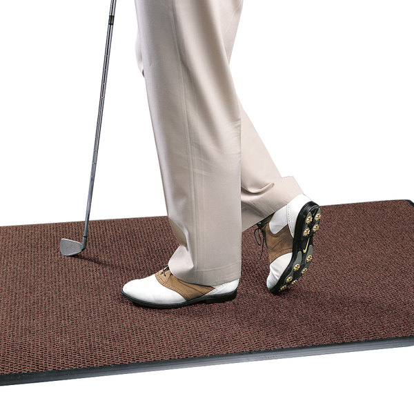 "Cactus Mat 1082M-T46 Pinnacle 4' x 6' Autumn Upscale Anti-Fatigue Berber Carpet Mat - 1"" Thick"