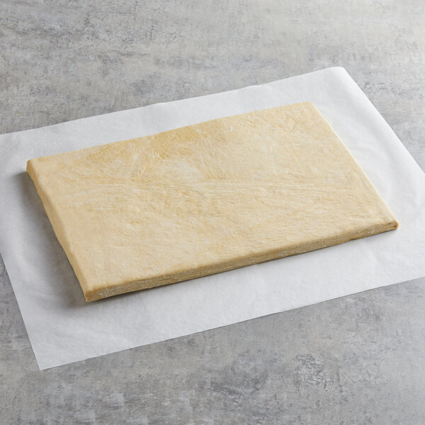 Pillsbury 15 lb. Danish Pastry Dough Slab - 2/Case