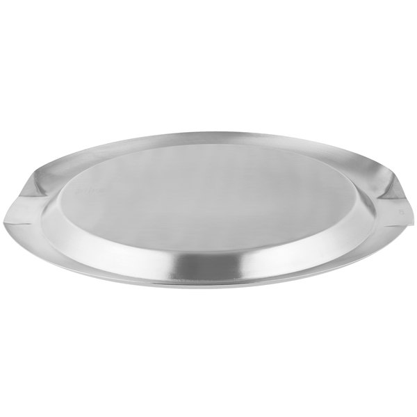 Vollrath 82098 Round Stainless Steel Serving Tray With