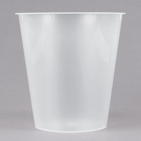 Bathroom Collections BS WPL1 Plastic Hotel Room Wastebasket Liner For 9 Qt.  Wastebaskets
