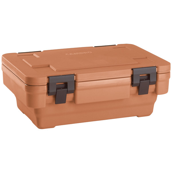 Cambro UPCSS160157 Coffee Beige S-Series Stack-and-Store Ultra Pan Carrier®