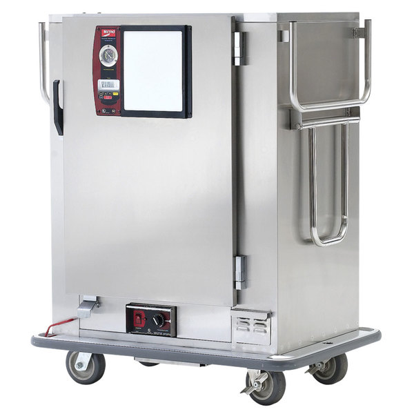 Metro MBQ-120 Insulated Heated Banquet Cabinet One Door Holds up to 120 Plates 120V