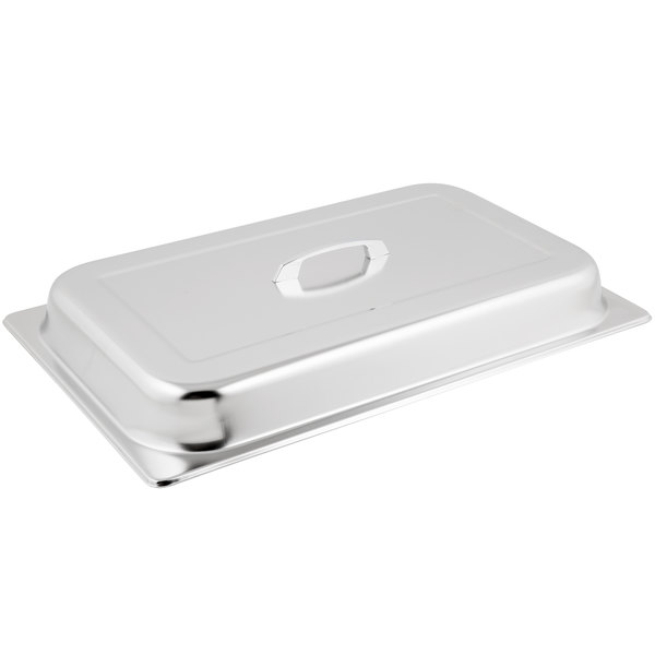 Choice 8 Qt. Full Size Stainless Steel Chafer Cover Main Image 1