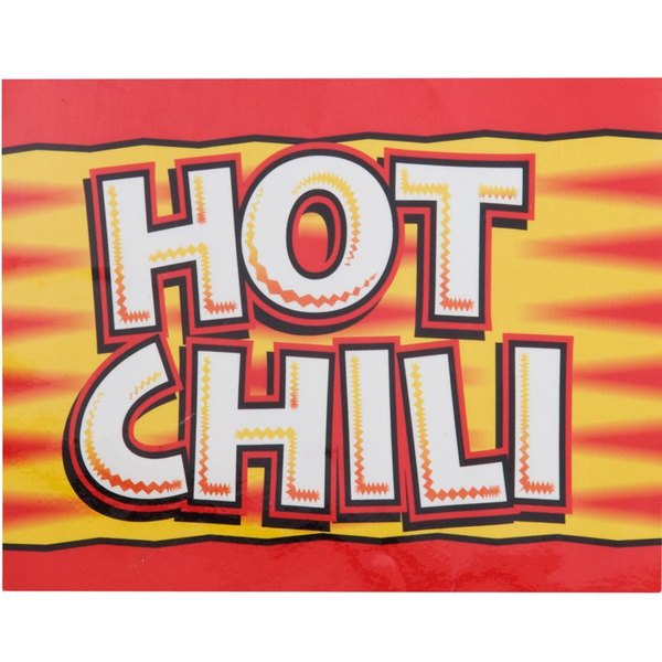 APW Wyott 21770200 Replacement Hot Dog Chili Topping Transparency for LW-4PKG Heated Countertop Warmer