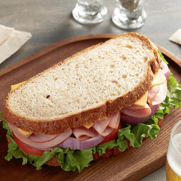 Amoroso's 22 oz. Sliced Wheat Pane Italiano - 12/Case Main Image 2