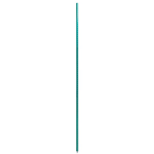"""Eagle Group P74-E 74"""" Stationary Post for Eaglegard® Green Epoxy NSF Wire Shelving Main Image 1"""