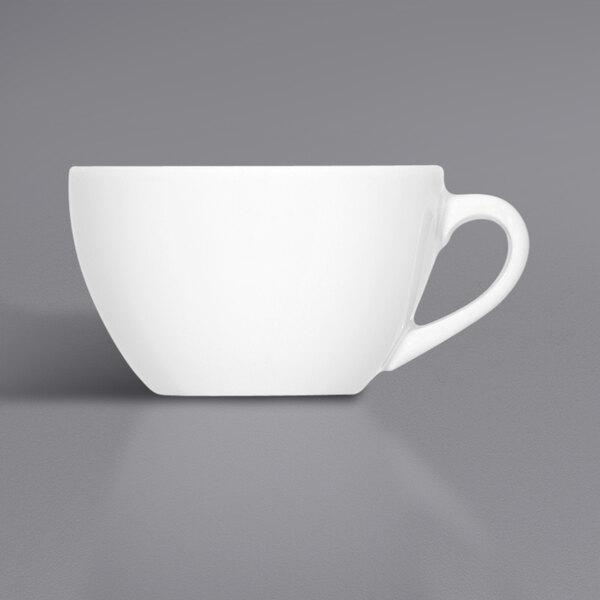 Bauscher by BauscherHepp 275175 Bonn 8.5 oz. Bright White Porcelain Cup - 36/Case Main Image 1