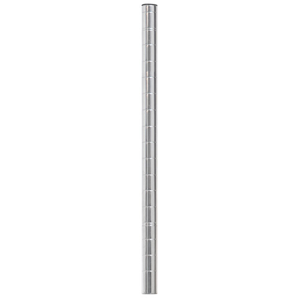"""Eagle Group CP18-C 18"""" Mobile Post for Chrome NSF Wire Shelving Main Image 1"""