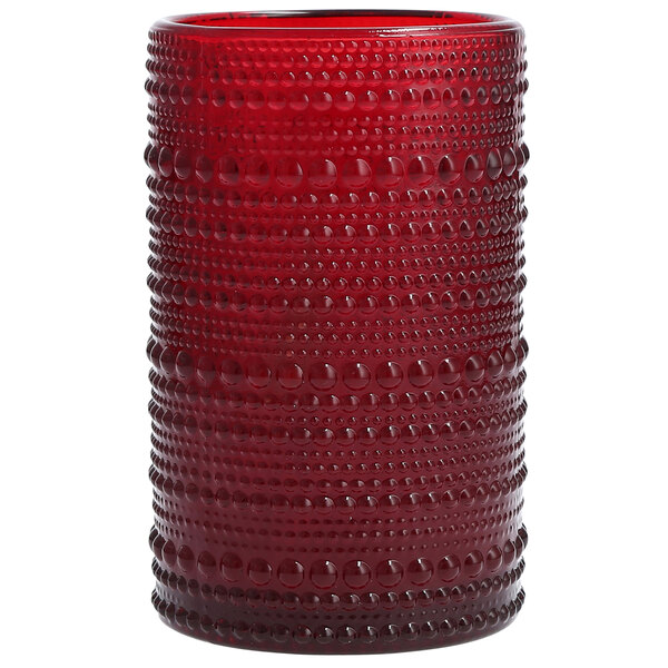 Fortessa DV.JUPITERRD.03 Jupiter 13 oz. Red Beverage Glass - 24/Case Main Image 1